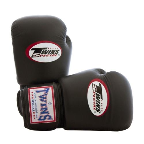 twins gloves brown