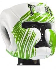 twins green accent headgear