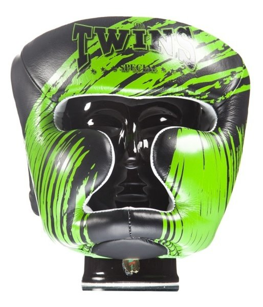 twins headgear green accent