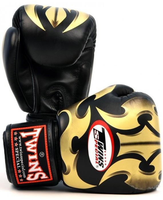 twins roman gloves black