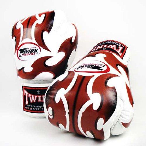 twins roman gloves white
