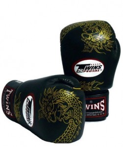 twins special dragon print gloves