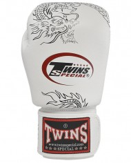 twins white dragon gloves